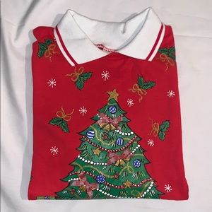 HABAND Christmas Sweater Red/white XXL